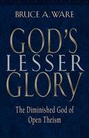 God S Lesser Glory