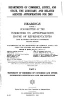 Departments of Commerce  Justice  and State  the Judiciary  and Related Agencies Appropriations for 2003