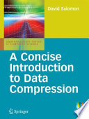 A Concise Introduction to Data Compression Book