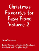 Christmas Favorites for Easy Piano