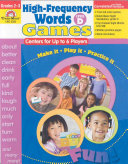 High-Frequency Words Center Games, Level D