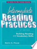 Intermediate Reading Practices