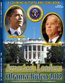 President Barack Obama Vice President Joe Biden 2012 Coloring Activity and Song Book