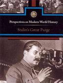 Stalin's Great Purge Book