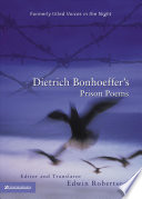 Dietrich Bonhoeffer's Prison Poems