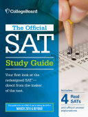 Cover of Official SAT Study Guide (2016 Edition)
