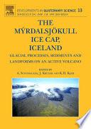 The Myrdalsjokull Ice Cap  Iceland