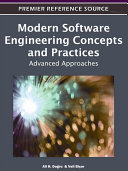 Modern Software Engineering Concepts and Practices: Advanced Approaches