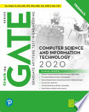 GATE Computer Science and Information Technology   GATE 2020   By Pearson
