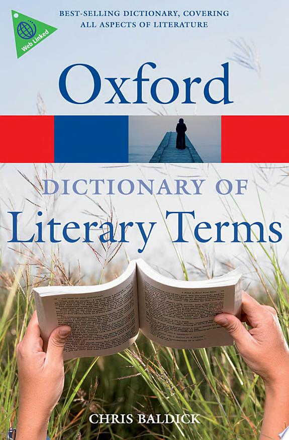 The+Oxford+Dictionary+of+Literary+Terms