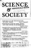 Science   Society