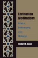 Levinasian Meditations