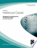 Management Consulting Practice In Intellectual Capital Book PDF