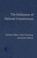 Pdf The Endurance of National Constitutions