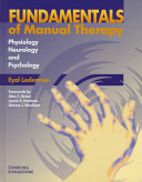 Fundamentals Of Manual Therapy Book PDF
