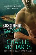 Backstroking with a Tiger Shark