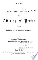 New hymn and tune book