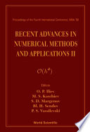 Recent Advances In Numerical Methods And Applications Ii Book PDF