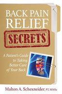Back Pain Relief Secrets