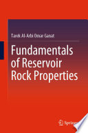 Fundamentals of Reservoir Rock Properties