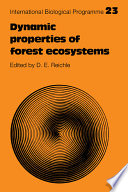 Dynamic Properties Of Forest Ecosystems Book PDF
