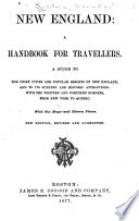 New England  a Handbook for Travellers