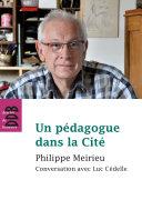 Pdf Un pédagogue dans la Cité Telecharger
