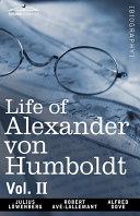 Pdf Life of Alexander Von Humboldt Telecharger