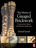 The History of Gauged Brickwork Pdf/ePub eBook