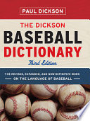 Read Online The Dickson Baseball Dictionary For Free