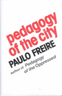 Pedagogy of the City Book