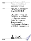 Federal Energy Management