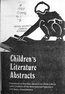 Children s Literature Abstracts Book