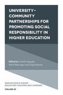 University-Community Partnerships for Promoting Social Responsibility in Higher Education