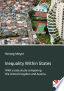 Inequality Within States Book