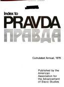Index to Pravda