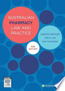 Australian Pharmacy Law and Practice