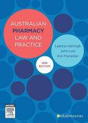 Australian Pharmacy Law and Practice Pdf/ePub eBook