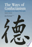 The Ways of Confucianism