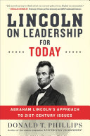 Lincoln on Leadership for Today