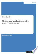 Mexican-American Relations and T.C. Boyle's