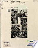 Annual Report of the U.S. Government Printing Office