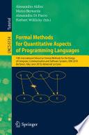 Formal Methods for Quantitative Aspects of Programming Languages