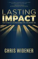 Lasting Impact