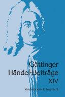Göttinger Händel-Beiträge