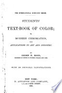 Students Text Book Of Color