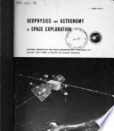 Geophysics and Astronomy in Space Exploration