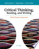 Critical Thinking, Reading and Writing