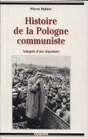 Pdf Histoire de la Pologne communiste Telecharger