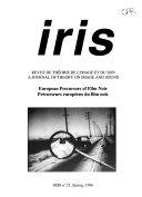 IRIS  Book